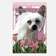 Mothers_Day_Pink_Tulips_C Postcards (Package of 8)