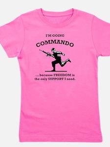 Commando Girl's Tee