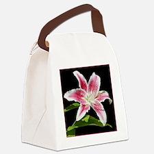 StargazerSquareBorder Canvas Lunch Bag