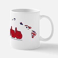HIStateFlagILYbs Mug
