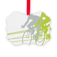 Bicycle Racers Ornament