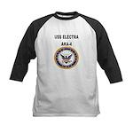 USS ELECTRA Kids Baseball Jersey