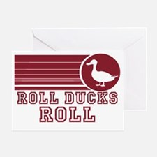 roll-ducks-roll Greeting Card