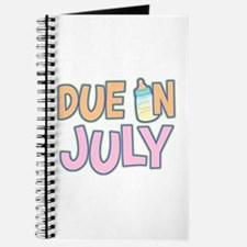 Due In July Girl Journal