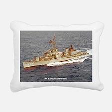 basilone dd large poster Rectangular Canvas Pillow