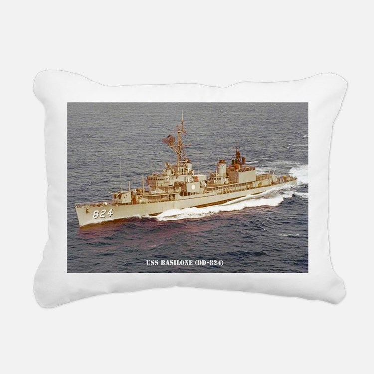basilone dd large poster Rectangular Canvas Pillow