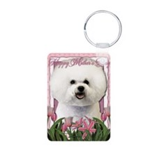 Mothers_Day_Pink_Tulips_Bi Keychains