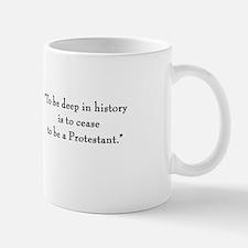 "Cardinal Newman ""Deep in History"" Mug"