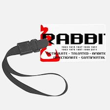 rabbit56light Luggage Tag