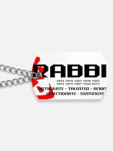 rabbit56light Dog Tags