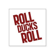 """roll-ducks-roll_dark Square Sticker 3"""" x 3"""""""