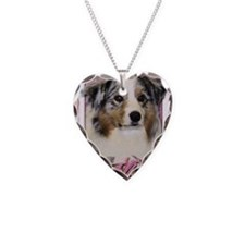 Mothers_Day_Pink_Tulips_Austr Necklace Heart Charm