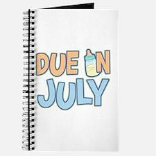 Due In July Boy Journal