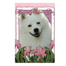 Mothers_Day_Pink_Tulips_A Postcards (Package of 8)