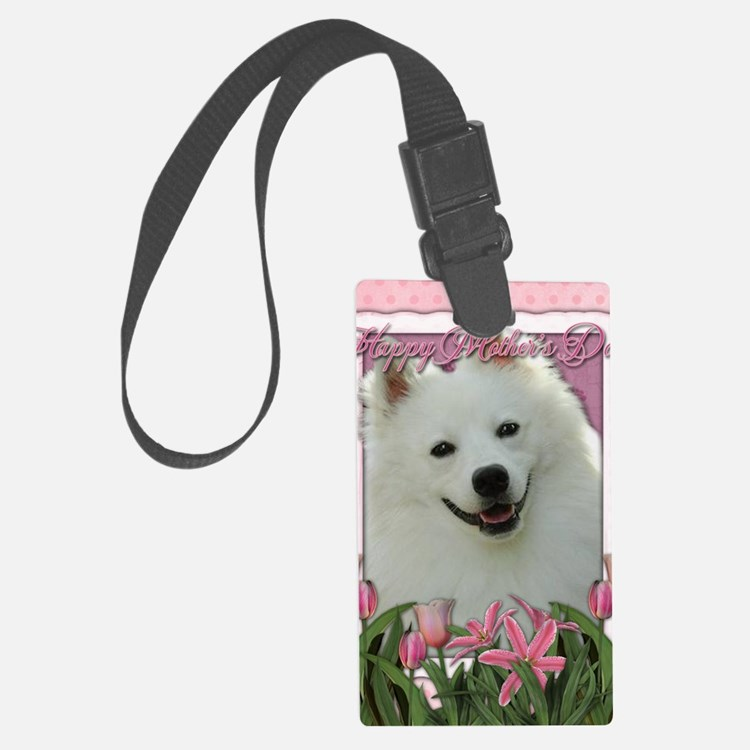 Mothers_Day_Pink_Tulips_American Luggage Tag