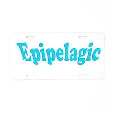 epipelagic Aluminum License Plate