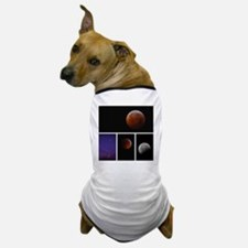 Lunar Eclipse Montage Dog T-Shirt