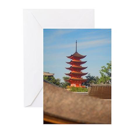 Pagoda Greeting Cards (Pk of 10)
