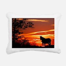 LEX102010 Rectangular Canvas Pillow