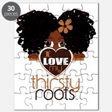Curly Natural Afro Puzzle