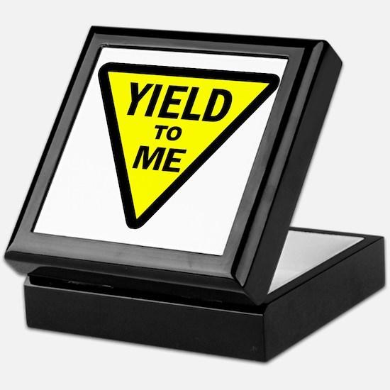Yield To Me Keepsake Box