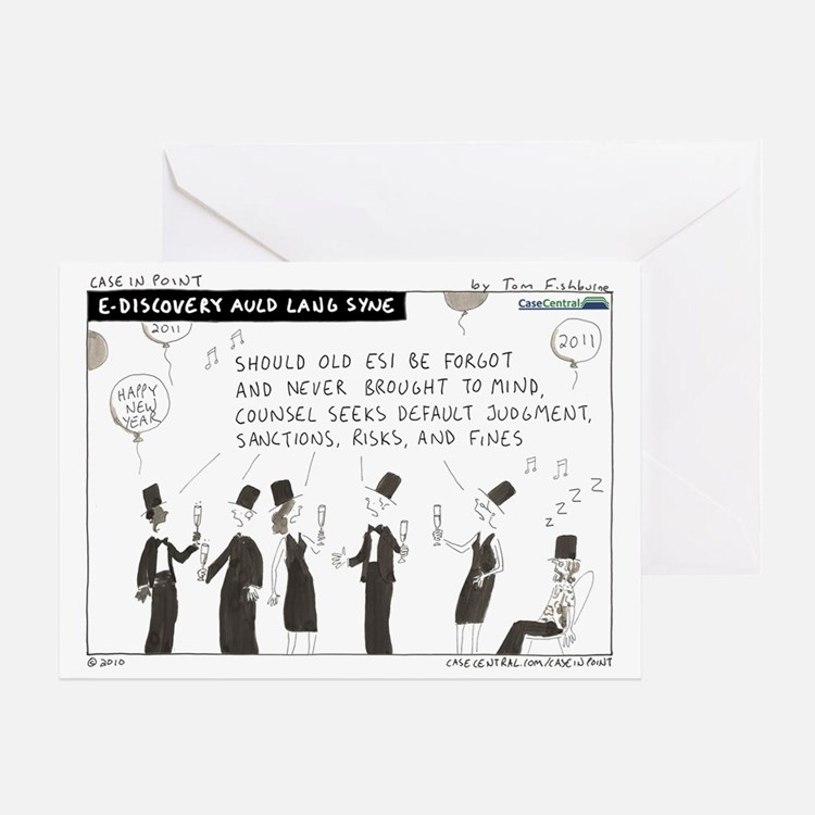 101227b.auldlangsyne Greeting Card