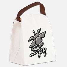 spy Canvas Lunch Bag