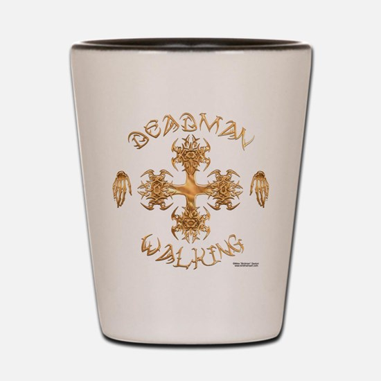 Tribal Iron Cross Shot Glass
