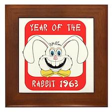 rabbit601963 Framed Tile