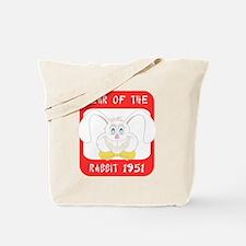 rabbit591951black Tote Bag