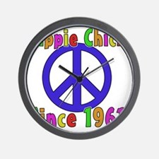 Hippie Chick1961 Wall Clock