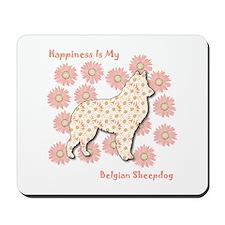 Malinois Happiness Mousepad