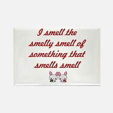 Smells Smelly Rectangle Magnet