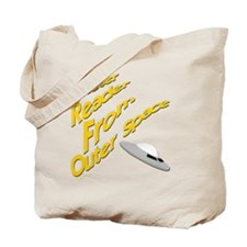 Meter Reader From Outer Space Tote Bag