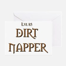 Dirt Napper 2 Greeting Card