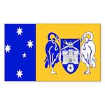 Australia Capital Territory Rectangle Sticker