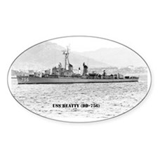 beatty calendar Decal