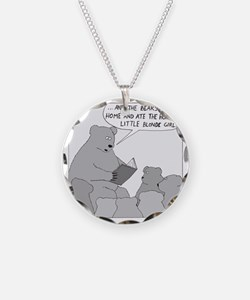 Bear Story Time - no text Necklace