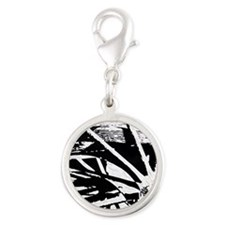 The Wheels of Time part1 Silver Round Charm