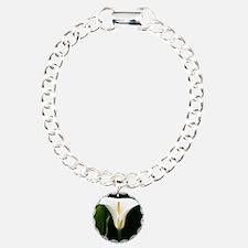 CallaLilySquareBorder Bracelet