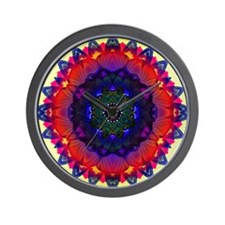 lotusii-mandala02-10x10 Wall Clock