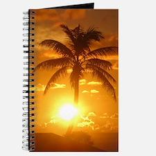 palm sunset Journal