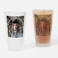Kelsey Borio Custom Buttons Drinking Glass