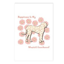 Bluetick Happiness Postcards (Package of 8)