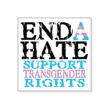 """ENDA-HATE-2 Square Sticker 3"""" x 3"""""""