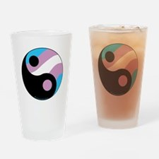 Transgender--Ying-Yang Drinking Glass