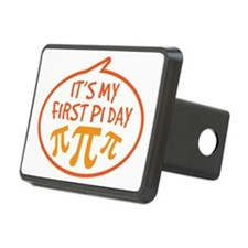 Babys First Pi Day Hitch Cover