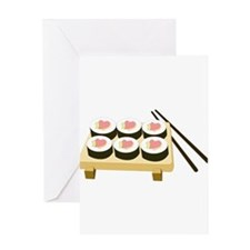 Sushi Love Greeting Cards