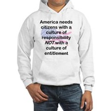 AMERICA NEEDS CITIZENS WITH RESP Hoodie