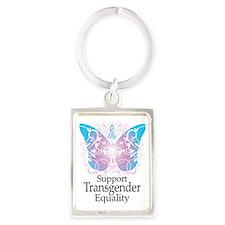Transgender-Butterfly-A Portrait Keychain